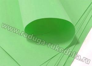 Фоамиран нежно-зеленый, 50*50 см толщина 1 мм. Иран