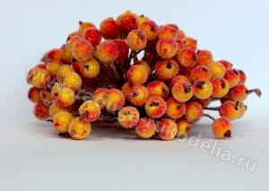 Сахарные ягоды, пучок.Оранжевые