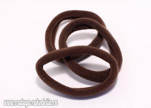 Резинка бесшовная 4,5 см, коричневая-27