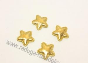 Патч звезда золото 23 мм
