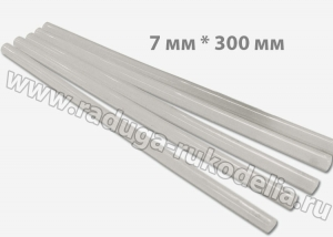 Термоклей-прозрачный 7мм*300мм, Китай