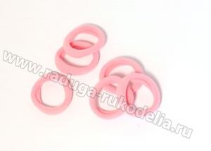 Резинка бесшовная 3 см, розовая №6