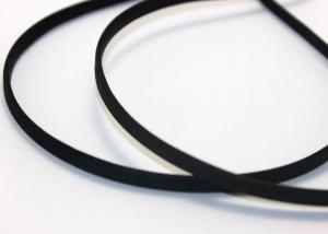 Ободок металл+ткань, 6 мм, черный