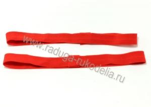 Повязка эластичная 1,5 х 19 см, красная