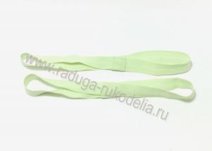 Повязка эластичная 1,5 х 19 см, светло-зеленая