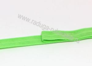 Лента эластичная для повязок, зеленая