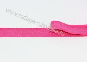 Лента эластичная для повязок, ярко-розовая