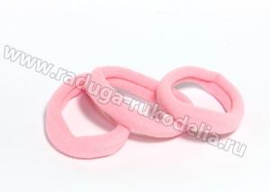 Резинка бесшовная 4,5 см, розовая № 6