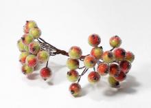 Сахарные ягоды, пучок. Зелено-красные