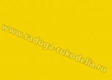 Фоамиран. Китай, 50х50 см. Цвет желтый 1 мм