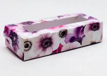 Коробка складная Цветочное настроение, 17 × 7 × 4 см