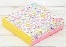 Коробка складная Для тебя, 14 × 14 × 3.5 см