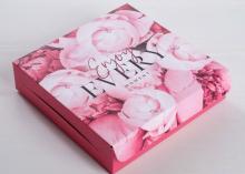 Коробка складная Enjoy, 14 × 14 × 3,5 см