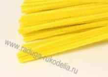 Проволока синельная желтая, 30 см