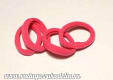 Резинки Розовые-3, бесшовные. 45 мм