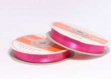 Лента атласная, 12 мм. ярко-розовый-044