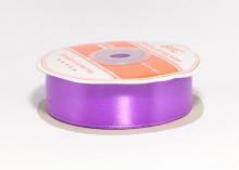 Лента атласная 25 мм, фиолетовая-082