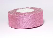 Парча светло-розовая, 35 мм