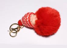 Подвеска Малыш на рюкзак, сумочку, ключи. 11 см, красный