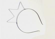 Ободок металл, Корона, 6 мм