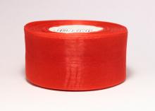 Органза Цвет красный. 5 см