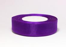Органза фиолетовая. 25 мм