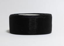 Органза Цвет черный. 4 см