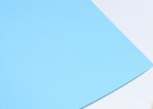 Фоамиран Светло-голубой, 50*50 см толщина 1 мм. Китай