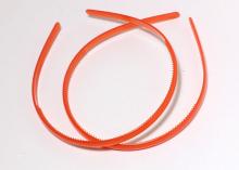 Ободок пластиковый, 0,8 см. Красный