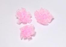 Цветок капрон, 35 мм, Светло-розовый