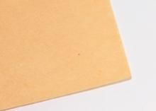 Фетр жесткий, 1 мм, 20х30 см, Светло-оранжевый