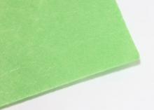 Фетр жесткий, 1 мм, 20х30 см, Светло-зеленый