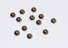 Полубусины бронза, 8 мм (уп. 40 шт)