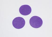 Фетровые кружочки (цвет фиолетовый) 25 мм