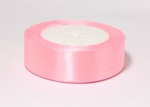 Лента атласная, розовый-66, 25 мм