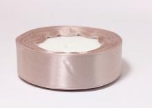Лента атласная, дымчато-розовый-092, 25 мм