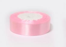 Лента атласная, розовый-04, 25 мм