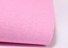 Фоамиран плюш светло-розовый, 20х30 см
