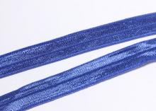 Лента эластичная для повязок, темно-синяя,15 мм