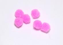 Помпон, Розовый, 1,5 см