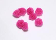 Помпон, Темно-розовый, 1,5 см
