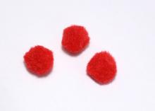Помпон Красный, 2 см