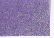 Фетр глиттерный, Фиолетовый, 20х30 см
