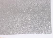 Фетр глиттерный, Серый, 20х30 см