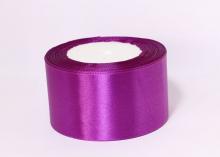 Атласная лента Фиолетовый-029, 50 мм