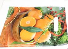 Пакет подарочный Апельсины 20х30 см