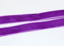 Лента бархатная 1,5 см, Фиолетовая