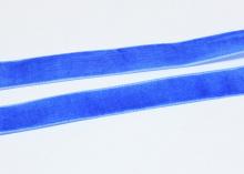 Лента бархатная 1,5 см, Синяя