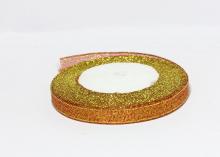 Парча Красная-золото, 1 см