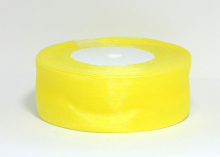 Лента органза 4 см, желтый №1142